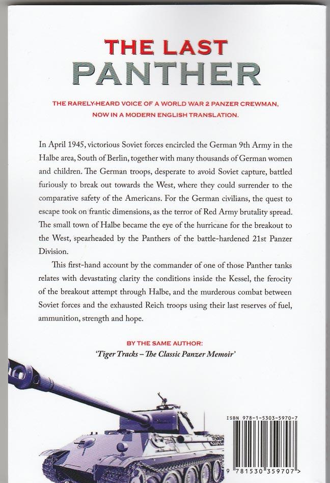 tiger tracks the classic panzer memoir