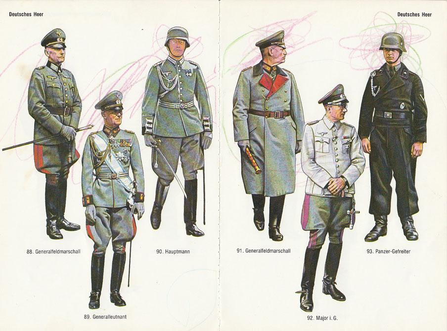 deutsche uniform im dritten reich